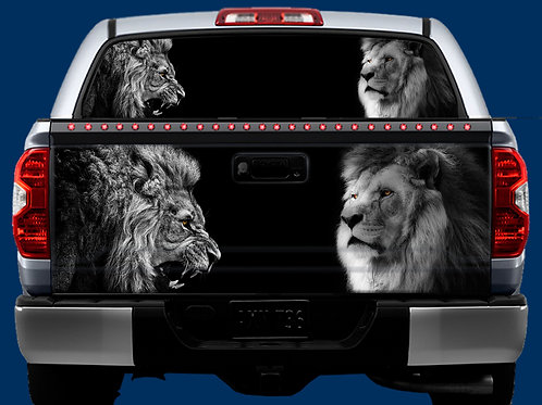 Tailgate / Window Wrap - Lions