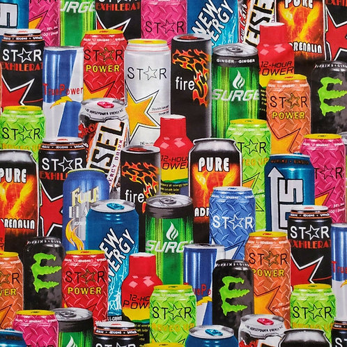 Set of 4 - Energy Drinks