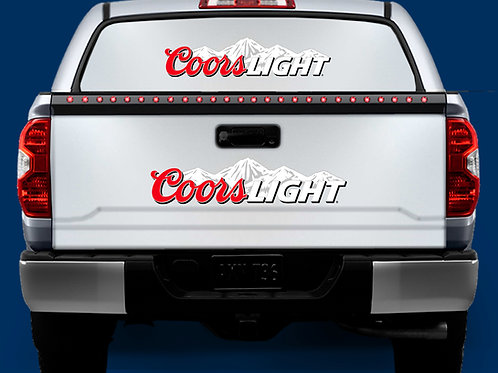 Tailgate / Window Wrap - Coors Light