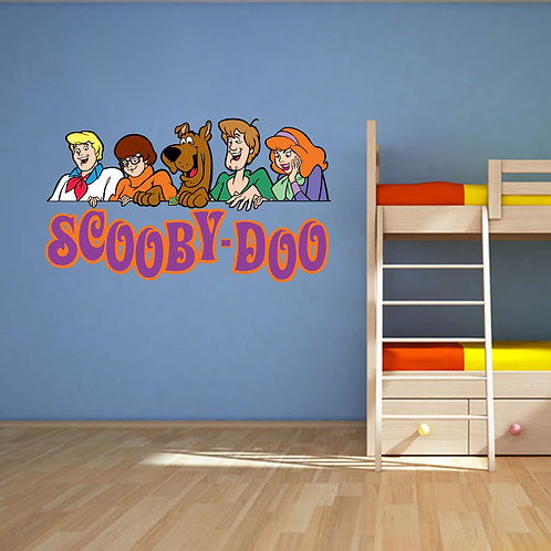 Scooby Doo Movable Wall Graphic