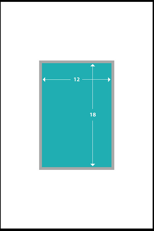 12 x 18 Gloss Poster Paper