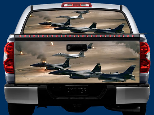 Tailgate / Window Wrap - Planes