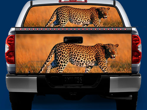 Tailgate / Window Wrap - Cheetah