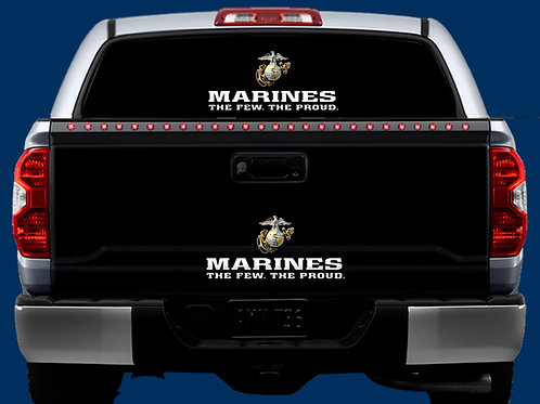 Tailgate / Window Wrap - Marines