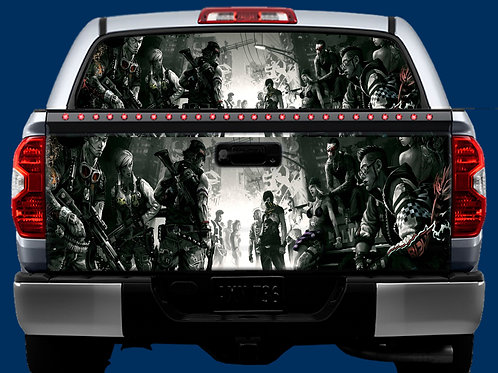 Tailgate / Window Wrap - Comic Book