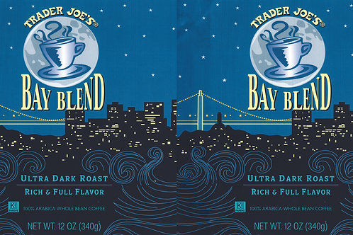 Trader Joe's Can Wrap Bay Blend Coffee