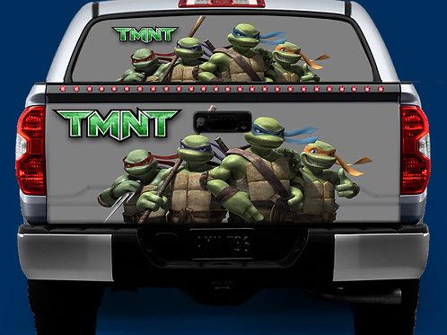Tailgate / Window Wrap - Turtles 1