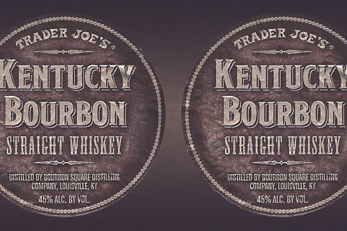Trader Joe's Can Wrap Kentucky Bourbon