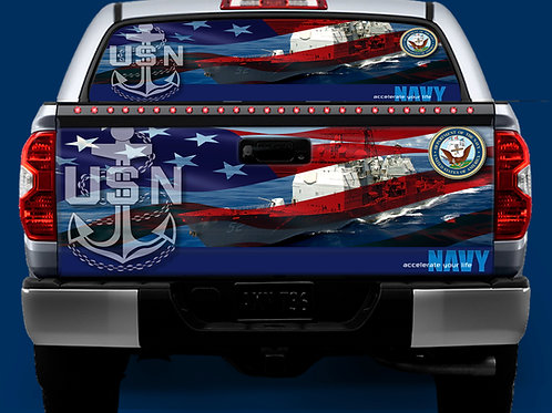 Tailgate / Window Wrap - Navy