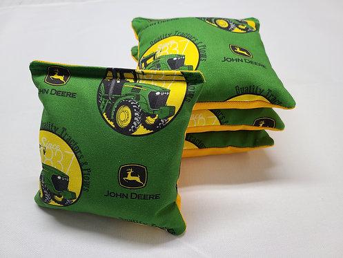 Set of 4 - John Deere Tractor