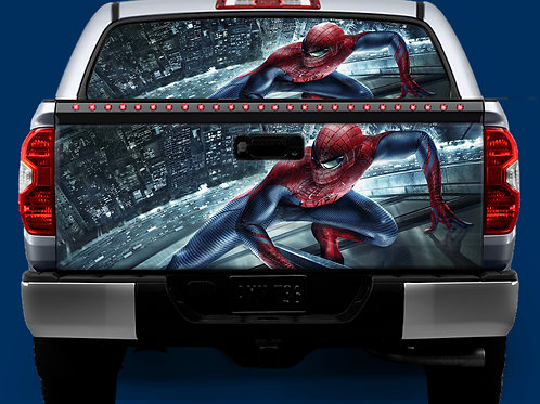 Tailgate / Window Wrap - The Amazing Spiderman