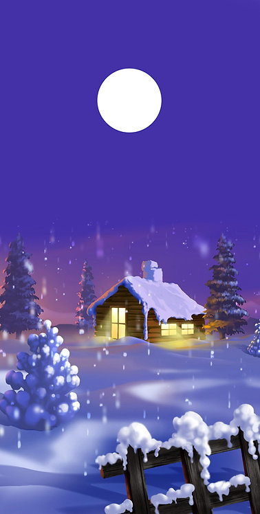 Cartoons 22 Christmas Cottage