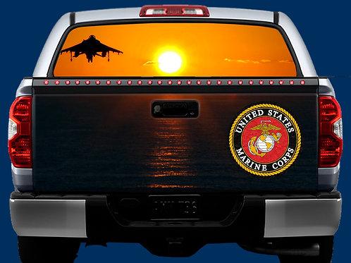 Tailgate & Window Wrap Kit - Marines