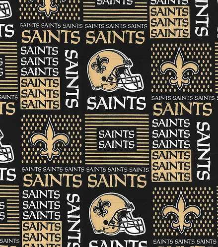 Set of 8 - New Orleans Saints Black & Gold