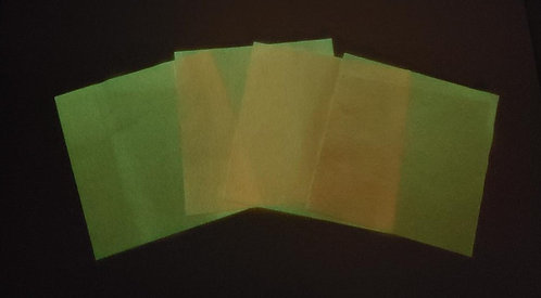 Set of 4 - Glow in the Dark- Peach LIMITED QUANTITY- ~Only 1 set left~