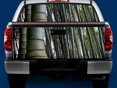 Tailgate / Window Wrap - Bamboo Trees