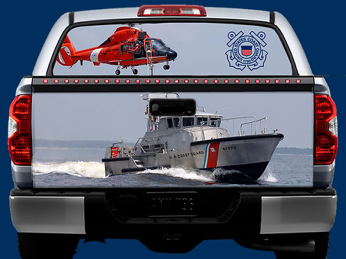 Tailgate & Window Wrap Kit - Coast Guard