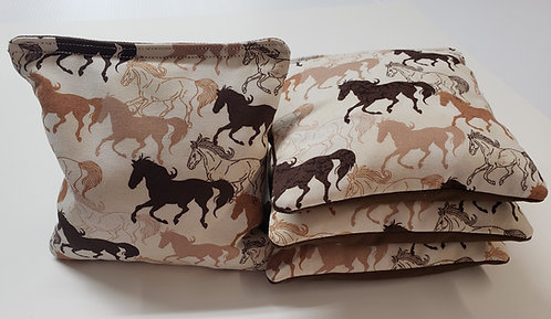 clearance- Set of 4- Horses FREE SHIPPING