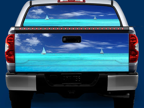 Tailgate / Window Wrap - Sailing