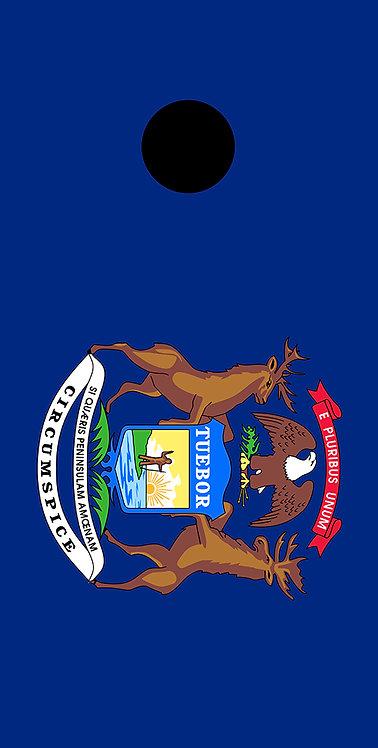 State Flag - Michigan 1