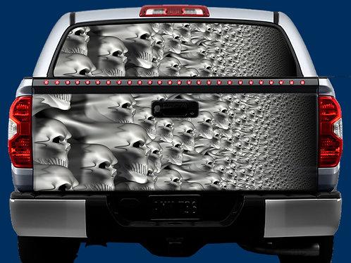 Tailgate / Window Wrap - Skulls 2