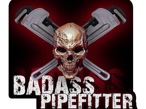 BADASS Pipefitter Decal