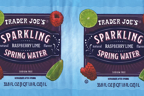 Trader Joe's Can Wrap Sparkling Water
