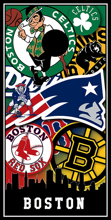 Clearance- Boston Multi Logo