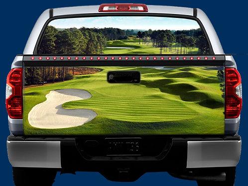 Tailgate & Window Wrap Kit - Golf