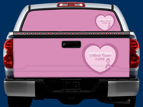 Tailgate / Window Wrap - Breast Cancer 2