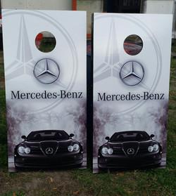 Mercedes-Benz Cornhole