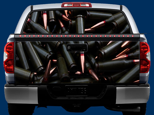 Tailgate & Window Wrap Kit - Ammo