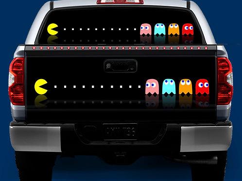 Tailgate / Window Wrap -Pacman