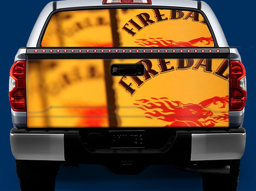 Tailgate / Window Wrap - Fireball