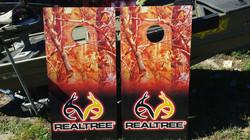 Real Tree Cornhole Wraps