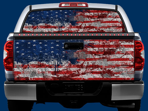 Tailgate / Window Wrap - Flags