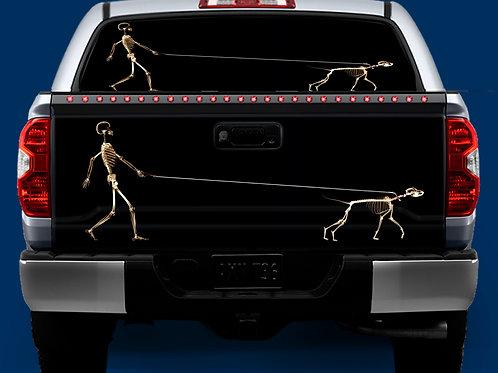 Tailgate / Window Wrap - Walking the Dog