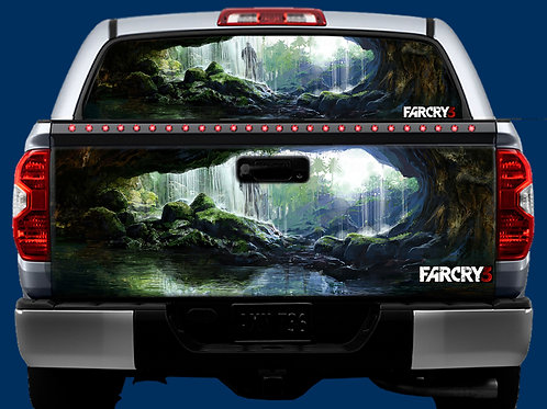 Tailgate / Window Wrap - Far Cry 3