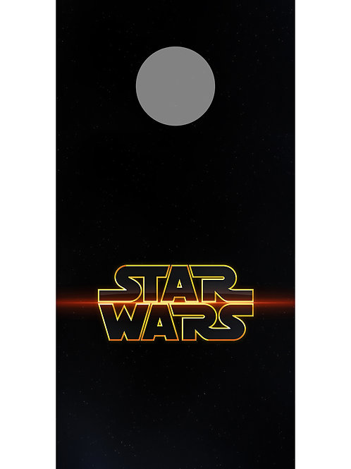 Starwars 2 Cornhole Wrap Set