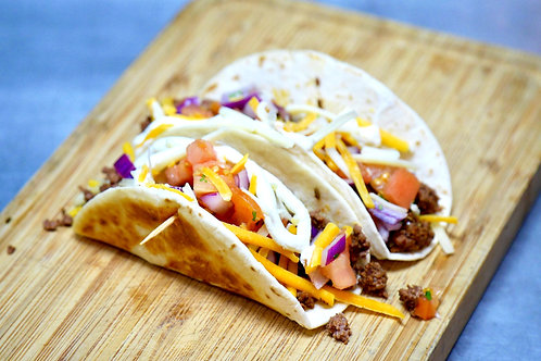 Beef Gringo Tacos