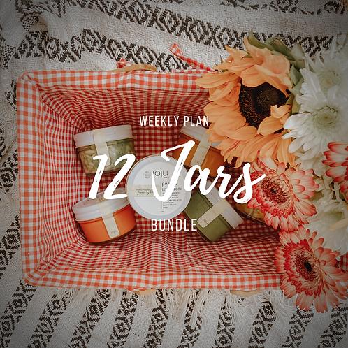 12 Jar Bundle - Weekly Membership