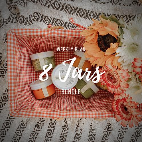 8 Jar Bundle - Weekly Membership