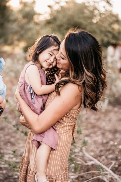 Dana + daughter Olivia
