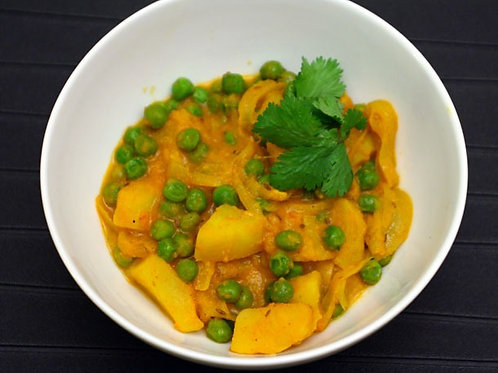Potato + Pea Curry