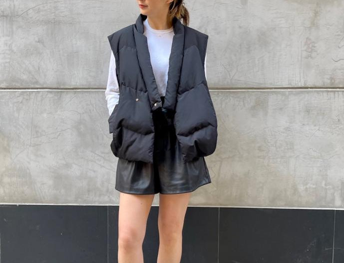 **PRE ORDER**  QUILTED SHELL DOWN VEST