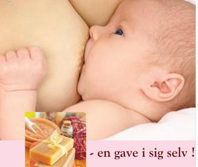 MODERMÆLK - den perfekte sæbe til  mor og baby.