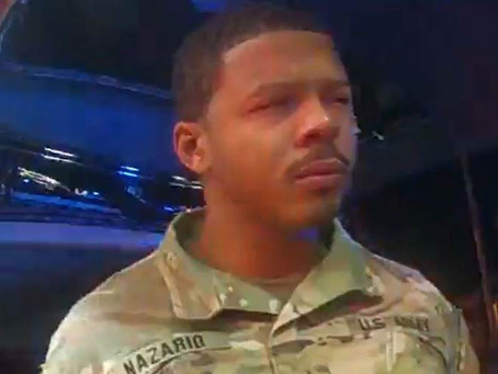 Black Army lieutenant files $1m lawsuit against crooked police officers who assaulted him