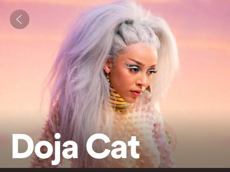 WINNING: Doja Cat Continues To Break Music Records