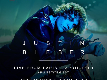 Promo: Justin Bieber Set To Give A Virtual Concert Live From Paris on YouTube