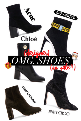 OMG, SHOES (All Designer, And All On Sale ;))